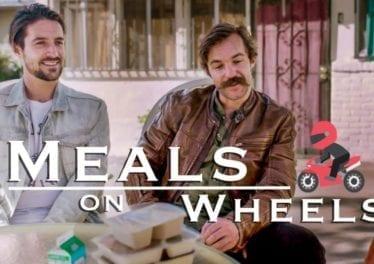 Delivering Meals On Wheels On Motorcycles Volunteering In Los Angeles California