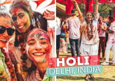 MOST COLOURFUL DAY EVER Celebrating HOLI In INDIA