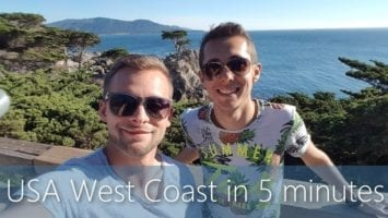 USA West Coast In 5 Minutes Travel Guide Must Sees For Your Road Trip