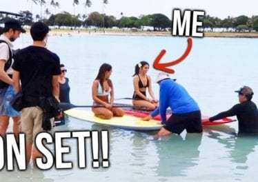 What Its Like To Be ON SET In Hawaii