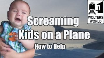 5 Ways To Deal With A Screaming Kid On A Plane