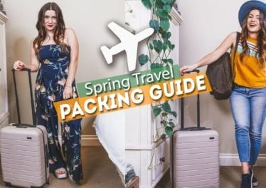 SPRING TRAVEL PACKING GUIDE