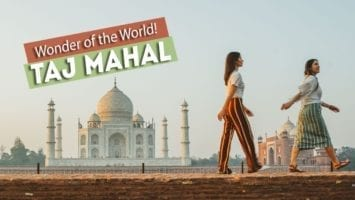 TAJ MAHAL I DID IT 67 WONDERS Of The WORLD Agra India