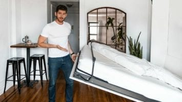 Tiny NYC Apartment Tour SPACE SAVING TIPS For Studio Apartments