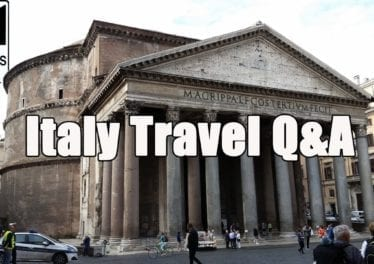 Italy Travel QA Your Travel Questions About Italy