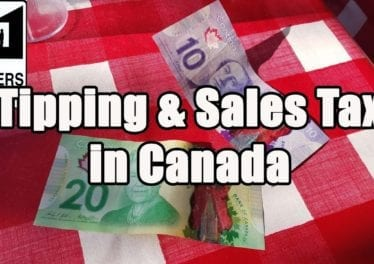Visit Canada Tipping Sales Taxes In Canada