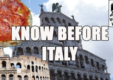 Visit Italy What You Should Know Before You Visit Italy