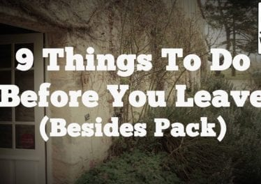 9 Things You HAVE TO DO The Night Before You Travel BESIDES PACK