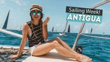 EPIC Sailing Race Sailing Week Antigua Chase The Race