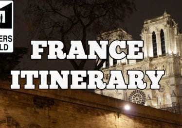 Visit France 10 Day Suggested Itinerary Of France