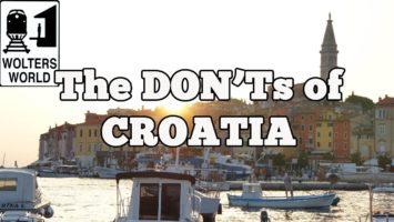 Visit Croatia The DONTs Of Visiting Croatia