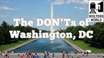 Visit DC The DONTs Of Visiting Washington DC