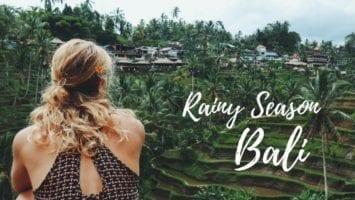 Bali Rainy Season VLOG Backpacking Bali In January