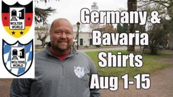 Germany Bavaria Themed Shirts August 1st 15th ONLY