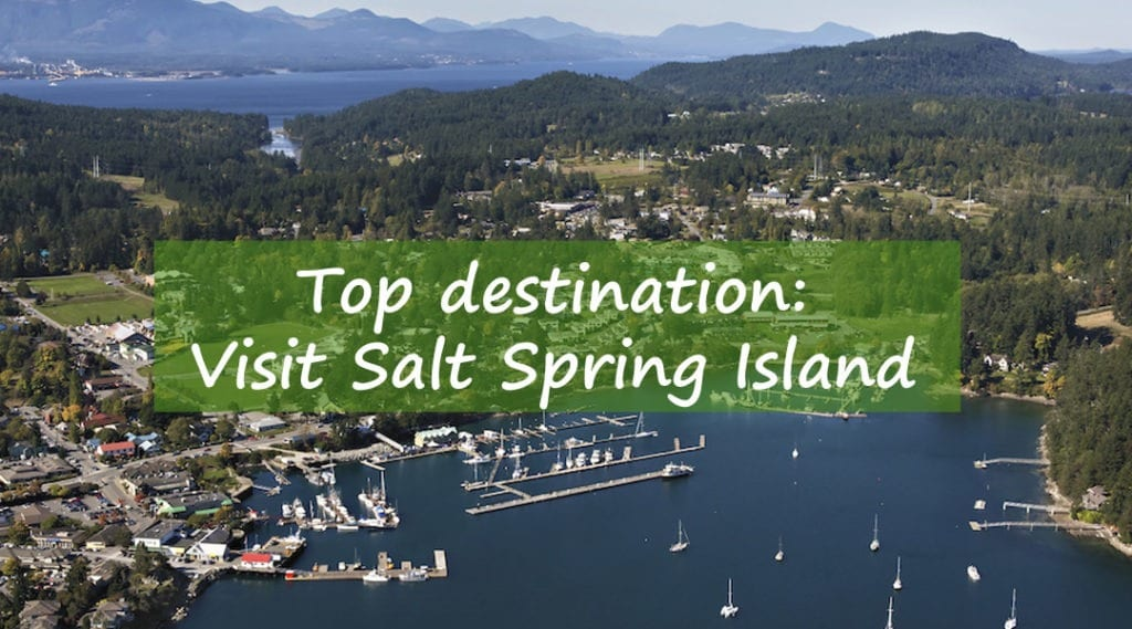 Salt spring island, top destination