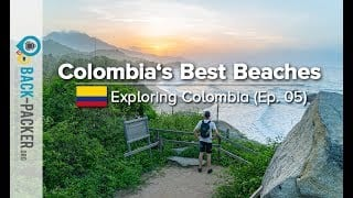 Best Beaches In Colombia Tayrona NP Santa Marta Palomino Minca Exploring Colombia Ep.05