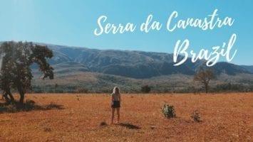 Serra Da Canastra Minas Gerais Backpacking Brazil Vlog
