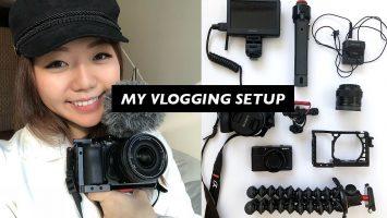 BEST VLOG SETUP 2019 Vlogging Camera Gear For Travel Food Videos