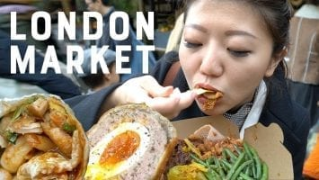 Trying The BEST London Street Food At Borough Market Ft. The Endless Adventure