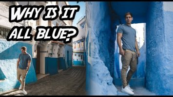 A City In Africa That Is ALL BLUE Chefchaouen Morocco