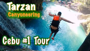 1 Thing To Do In Cebu Philippines Kawasan Falls Canyoneering Best Day Ever