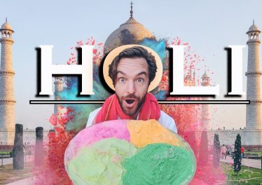 Holi Festival India New Delhi Taj Mahal Travel Guide
