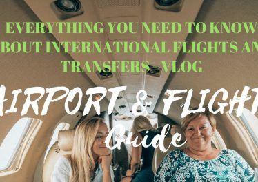 INTERNATIONAL FLIGHT GUIDE AFRAID OF FLYING FIRST TIME AT A BUSY AIRPORT WATCH THIS VIDEO