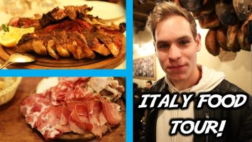 ITALY FOOD TOUR BEST Florence Walking FOOD TOUR