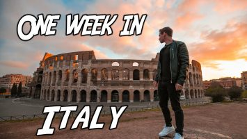 ITALY TRAVEL GUIDE How To See Italy In 7 Days 2019