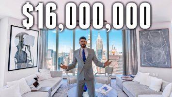 NYC Apartment Tour 16 MILLION LUXURY APARTMENT