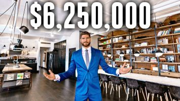 NYC Apartment Tour 6.25 MILLION LUXURY APARTMENT