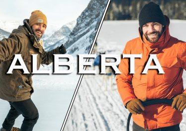 Perfect Day In Banff Lake Louise Alberta Canada