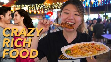 Singapore Street Food Tour CRAZY RICH ASIANS Style