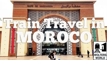 The Train From Marrakech To Casablanca Morocco Our Experience