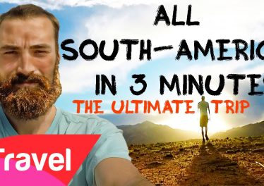 Vbp 3154 Backpacking South America 13 COUNTRIES IN 3 MINUTES Budget And Information HD GOPRO Backpaco