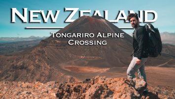 New Zealands Best Hike Tongariro Alpine Crossing Travel Vlog