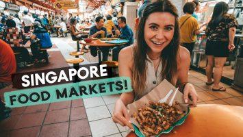 Singapore Food Markets Street Food And Vegan Food