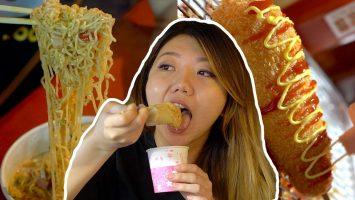 BIGGEST Taiwan Night Market Street Food Tour