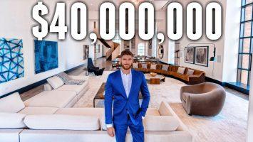 Inside A 40 Million Luxury NYC Apartment BILLIONAIRE MEGA MANSION