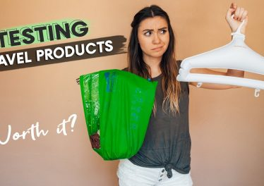 TRAVEL PRODUCT REVIEWS Portable Laundry Bag Hangers DOES IT WORK