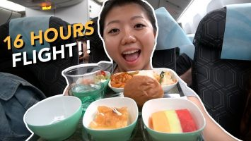 EVA Air ECONOMY FOOD Review New York To Taipei