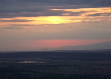 Sunrise At The Rift Valley In Tanzania NO COMMENTARY