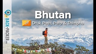 Trekking Things To Do In Bhutan Documentary In 4k