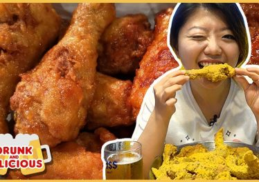 Best KOREAN FRIED CHICKEN In Korea Late Night Seoul Food Tour