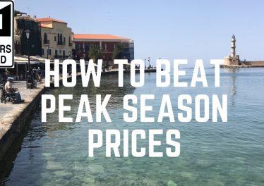 Budget Travel How To Beat Peak Season Prices Headaches
