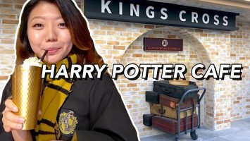 I Visit The Harry Potter Cafe In Korea