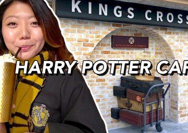 I Visit The Harry Potter Cafe In Korea