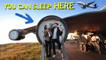 We Slept In A AIRPLANE HOTEL 7 Days In Stockholm Sweden