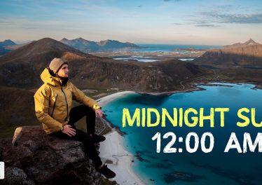 24 HOURS Of SUN Lofoten Norway 4K