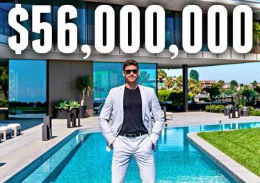 INSIDE A 56 Million Bel Air MEGA MANSION
